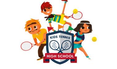 Kids Tennis High School Visual Rgb