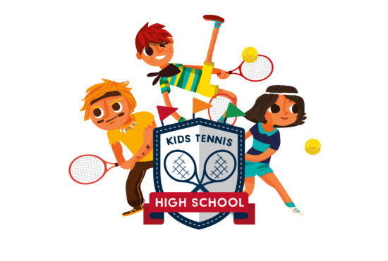 Kids Tennis High School Visual Rgb